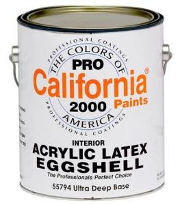 Acrylic Latex Eggshell 557
